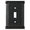 Brainerd Landen 1-Gang Soft Iron Standard Toggle Steel Wall Plate