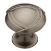 Brainerd Emmy Knob Heirloom Silver Round Cabinet Knob