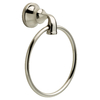 DELTA Lorain Brushed Nickel Wall Mount Towel Ring