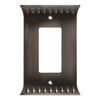 Brainerd Wadsworth 1-Gang Slate Round Wall Plate