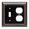 Brainerd Architectural 2-Gang Single Toggle/Duplex Wall Plate