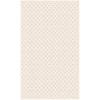 Regence Home Cheshire 26-in x 43-in Rectangular White Geometric Accent Rug