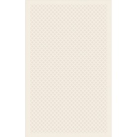 Regence Home Cheshire 36-in x 60-in Rectangular Cream/Beige/Almond Geometric Accent Rug