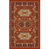 Regence Home Malmesbury 39-in x 55-in Rectangular Red Geometric Accent Rug