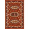 Regence Home Malmesbury Rectangular Red Geometric Woven Area Rug (Common: 5-ft x 8-ft; Actual: 5-ft x 7-ft)