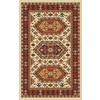 Regence Home Malmesbury 39-in x 55-in Rectangular Red/Pink Geometric Accent Rug