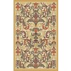 Regence Home Malmesbury 39-in x 55-in Rectangular Yellow Floral Accent Rug