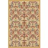 Regence Home Malmesbury 60-in x 84-in Rectangular Cream/Beige/Almond Floral Area Rug