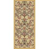 Regence Home Malmesbury 26-in W x 60-in L Cream/Beige/Almond Runner