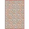 Regence Home Malmesbury Rectangular Red Floral Woven Area Rug (Common: 5-ft x 8-ft; Actual: 5-ft x 7-ft)