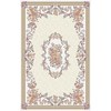 Regence Home Winchester 39-in x 55-in Rectangular Gray Floral Accent Rug