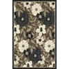 Regence Home Winchester 39-in x 55-in Rectangular Brown/Tan Floral Accent Rug