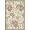 Regence Home Winchester 39-in x 55-in Rectangular Cream/Beige/Almond Floral Accent Rug