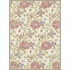 Regence Home Winchester 5-ft x 7-ft 6-in Rectangular Multicolor Floral Area Rug