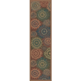 Regence Home Wellington Multicolor Indoor/Outdoor Tufted Wool Runner (Common: 2-ft x 8-ft; Actual: 2.166-ft x 8-ft)