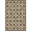 Regence Home Wellington 6-ft x 9-ft Rectangular Multicolor Geometric Indoor/Outdoor Area Rug