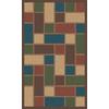 Regence Home Wellington 36-in x 60-in Rectangular Red Geometric Accent Rug