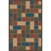 Regence Home Wellington 5-ft x 7-ft Rectangular Multicolor Geometric Indoor/Outdoor Area Rug