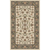 Regence Home Wellington 36-in x 60-in Rectangular Brown Floral Accent Rug