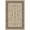 Regence Home Wellington 60-in x 84-in Rectangular Cream/Beige/Almond Floral Indoor/Outdoor Area Rug