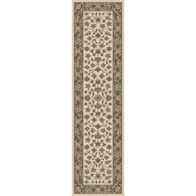 Regence Home Wellington Cream Indoor/Outdoor Tufted Wool Runner (Common: 2-ft x 8-ft; Actual: 2.166-ft x 8-ft)
