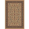 Regence Home Wellington 72-in x 108-in Rectangular Brown/Tan Floral Indoor/Outdoor Area Rug