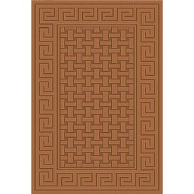 Regence Home Cheshire Nutmeg Rectangular Indoor Machine-Made Throw Rug (Common: 2 x 4; Actual: 26-in W x 43-in L)