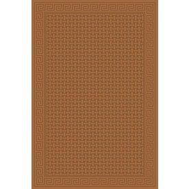 Regence Home Cheshire Rectangular Brown Geometric Indoor/Outdoor Woven Wool Area Rug (Common: 5-ft x 8-ft; Actual: 5-ft x 7.5-ft)
