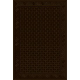 Regence Home Cheshire Chocolate Rectangular Indoor Machine-Made Area Rug (Common: 4 x 6; Actual: 48-in W x 72-in L)