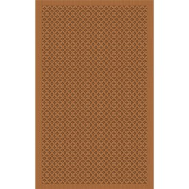 Regence Home Cheshire Nutmeg Rectangular Indoor Machine-Made Throw Rug (Common: 3 x 5; Actual: 36-in W x 60-in L)