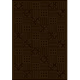 Regence Home Cheshire 5-ft x 7-ft 6-in Rectangular Tan Geometric Indoor/Outdoor Area Rug