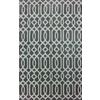 allen + roth Kentby Brown Rectangular Indoor Machine-Made Area Rug (Common: 8 x 9; Actual: 90-in W x 108-in L)