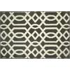 allen + roth Kentby Brown Rectangular Indoor Machine-Made Throw Rug (Common: 2 x 3; Actual: 22.5-in W x 34-in L)