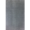 allen + roth Lindstal Gray Rectangular Indoor Machine-Made Area Rug (Common: 8 x 9; Actual: 90-in W x 108-in L)