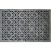 allen + roth Lindstal Gray Rectangular Indoor Machine-Made Throw Rug (Common: 2 x 3; Actual: 22.5-in W x 34-in L)