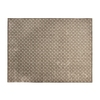 allen + roth Lindstal Cream Rectangular Indoor Machine-Made Area Rug (Common: 8 x 9; Actual: 90-in W x 108-in L)