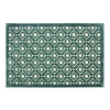 allen + roth Lindstal Blue Rectangular Indoor Machine-Made Throw Rug (Common: 2 x 3; Actual: 22.5-in W x 34-in L)