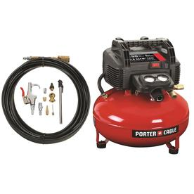 PORTER-CABLE 0.8 HP 6-Gallon 150 PSI Electric Air Compressor