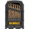 DEWALT 29-Pack Cobalt Twist Drill Bit Set