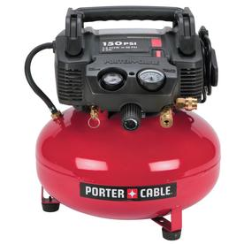 PORTER-CABLE 0.8-HP 6-Gallon 150-PSI 120-Volt Pancake Electric Air Compressor