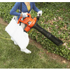 BLACK & DECKER 12-Amp 385-CFM 240-MPH Corded Electric Leaf Blower with Vacuum Kit