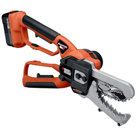 BLACK & DECKER 18-Volt Nickel Cadmium (NiCd) 6-in Cordless Electric Chain Saw