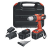 BLACK & DECKER 18-Volt 3/8-in Cordless Drill with Hard Case