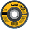 DEWALT 120-Grit 4-1/2-in W x 4-1/2-in L Flap Disc Sandpaper