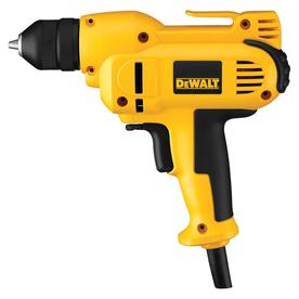 DEWALT 8-Amp 3/8-in Mid-Handle Grip VSR Drill with Case