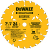 DEWALT Precision Trim 7-1/4-in 24-Tooth Circular Saw Blade