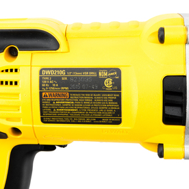 Dewalt 10 Amp 1 2 In Keyed Corded Drill In The Drills Department At Lowes Com