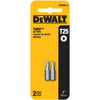 DEWALT 2-Pack 1-in Torx Screwdriver Bits