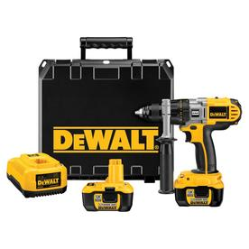 DEWALT 18-Volt Lithium Ion 1/2-in Cordless Drill with Battery and Hard Case