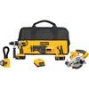 DEWALT 4-Tool 18-Volt Brushed Motor Cordless Combo Kit
